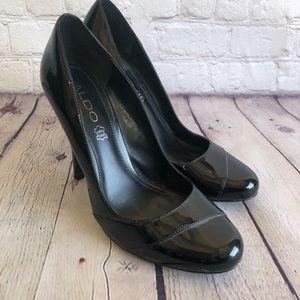 ALDO Black Patten Leather Shoes Size 38 / 8